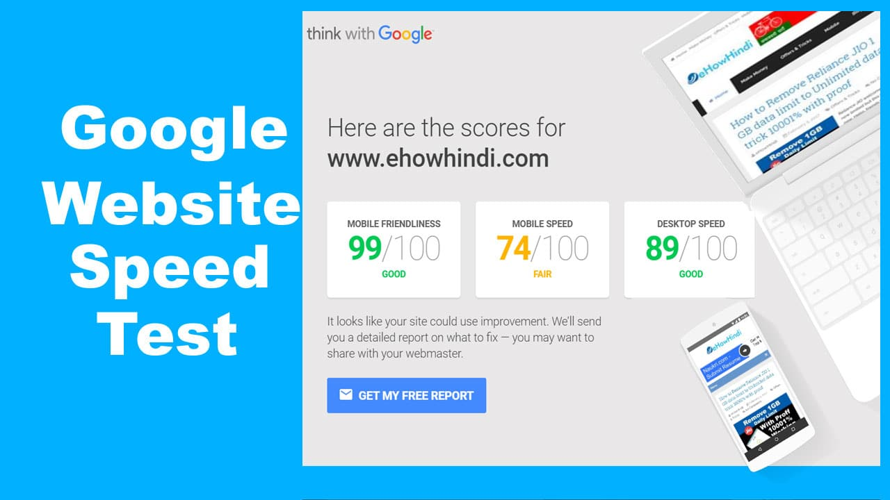 Google Insights Website Page Speed Test Tool 1