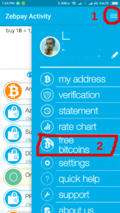 zebpay Bitcoin App