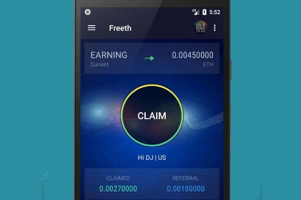Freeth : Claim your 1000 Free Ethereum every 3 minute