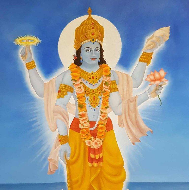 Shri Vishnu Sahasranamam Stotram Lyrics in Hindi