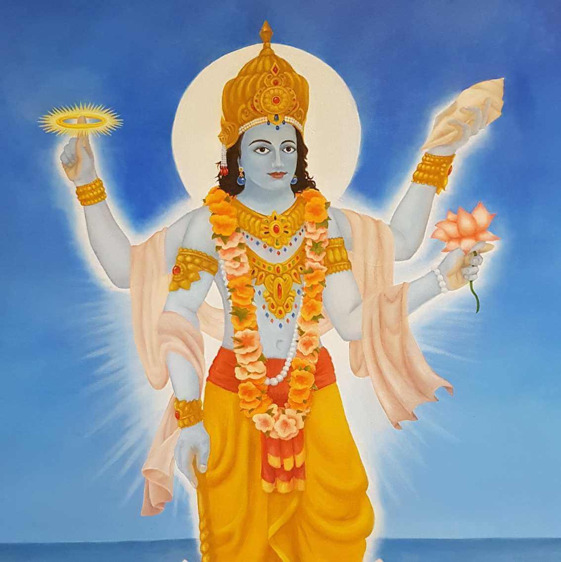 Shri Vishnu Sahasranamam Stotram Lyrics in saskrit