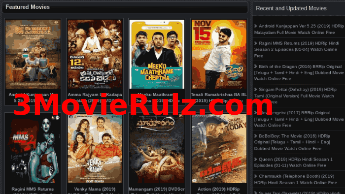 Movierulz New Website : Movierulz 2020 Latest Movies HD Download